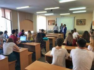 В НГЛУ состоялась презентация кадрово-образовательного проекта «ПолитСтартап»