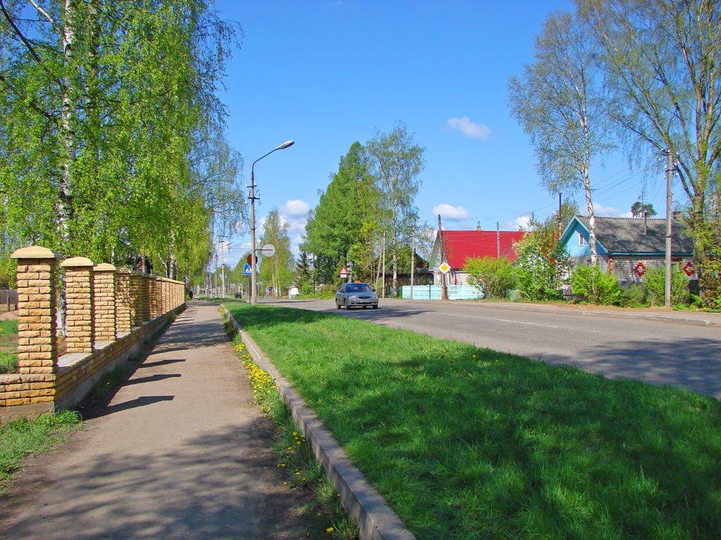 Фото города Пестово
